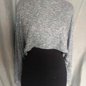 Boohoo укороченный свитерок с широкими рукавами