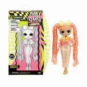 Велика лялька лол Дезл світиться L. o. l. surprise omg lights Dazzle оригінал