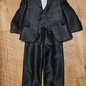 Класичний костюм трійка 104-110см