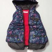 Гламурный жилет для девченок 1-5 лет, венгрия, качество, цвета в описании