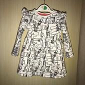 Бавовняне плаття на вік 9-12 місяців