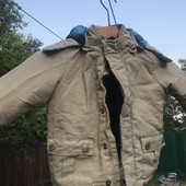 Куртка, 2 шапки и джинсы
