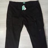 Редкий размер! Фирменные новые коттоновые штаны-карго р.3-5XL