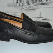 Мягенькі демісезонні туфлі з натуральної шкіри 39-40 розмір