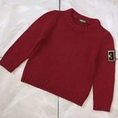 Стоп , плотный и мягкий❤ Фирменный очень теплый свитер для мальчика,4-5 лет❤ Много лотов!