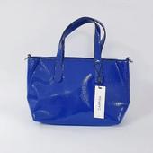 элегантная сумка , лакированная экокожа, Carpisa