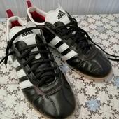 Кожаные кроссовки, размер 41