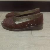 Туфли женские с открытым носом 42 размер ( 26.5 см)