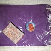 Подарок из Стамбула - шарф, мыло и кошелёк