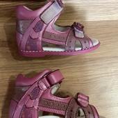 кожаные ортопедические panda босоножки сандалии кожа для первых шагов