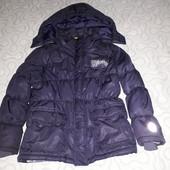 Демисезонная куртка Pepperts 128/134 состояние отличное, мини-нюанс