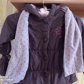 Демисезонная куртка для принцессы