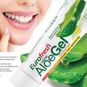 Зубная паста Aloe Gel от Farmasi, 112гр (Большой объём!)