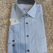 Качественная рубашка Royal Class, ворот 42