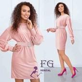 Платье женское вельветовое. 4 цвета. Распродажа модели!