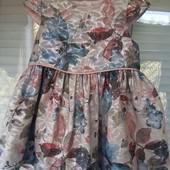 Нарядное платье с блеском Next для принцессы 9-12 мес. В идеале