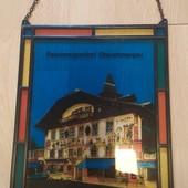 Шикарная картина из стекла и металла. Германия!