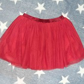 Новая фатиновпя юбка на 4-5 лет!