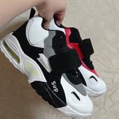 Стильные молодежные кроссовки-хайтопы,унисекс модель.Два цвета.37-40 маломер