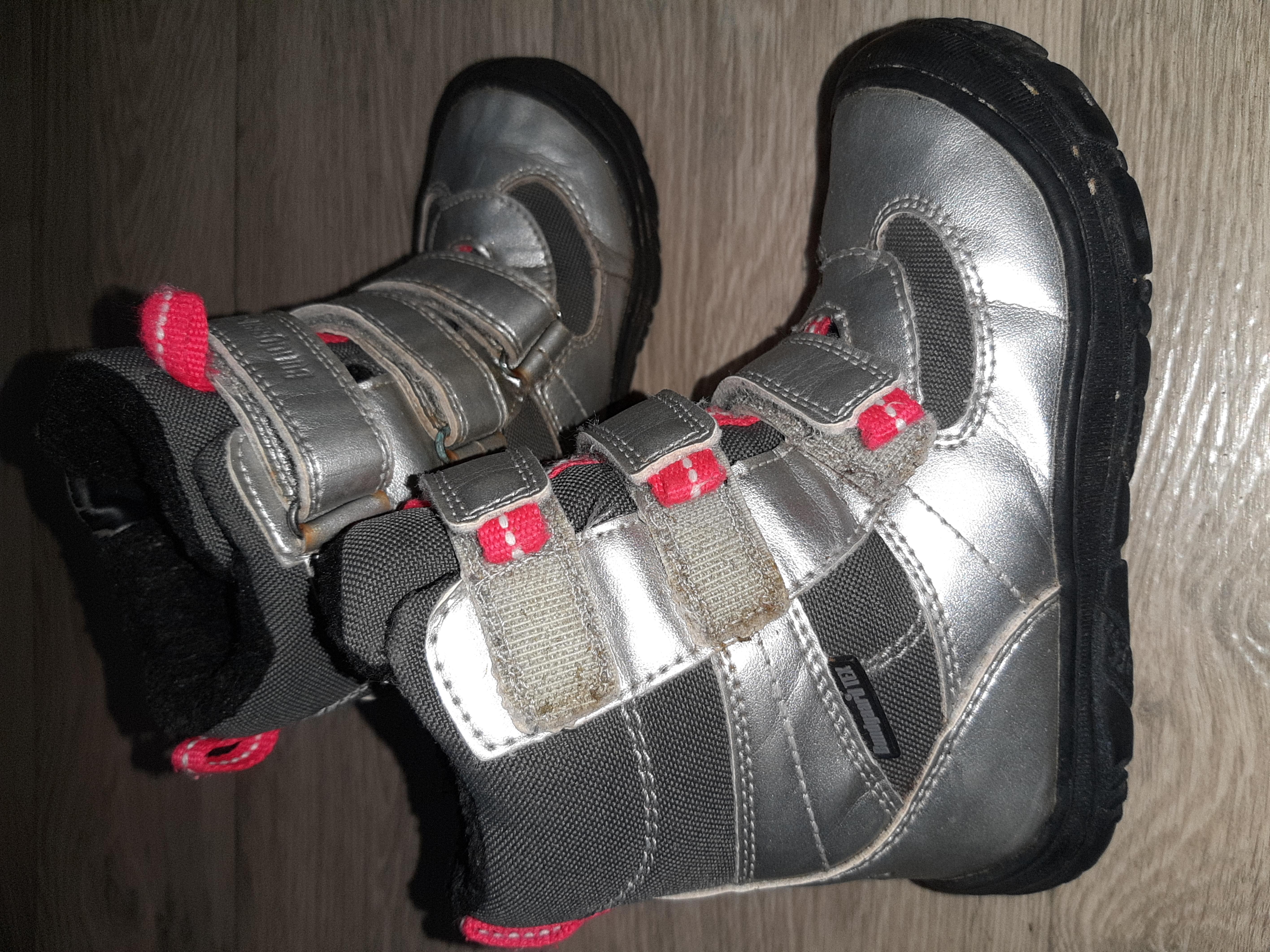 Ботиночки на девочку,Стелька 17,5 см,фирмы Bundgaard Tex.Состояние Отличное!