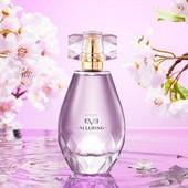 Eve Alluring соткана из восточных, древесных и цветочных нот -они манят, очаровывают, кружат голову!