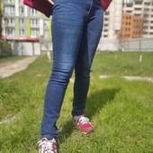 джинсы на флисе  (ткань тягнеться)