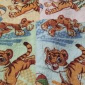 Кухонные махровые полотенца 25х50 лот 4 шт