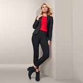 ☘ Еластичні штани довжиною до щиколотки Tchibo (Німеччина), р. наші: 42-44 (36 євро)
