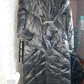 Шикарное дутое пальто зимние тёплые качество отличное 1 шт