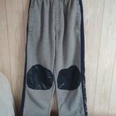 Спортивные штаны на флисе, размер 146