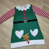 Новогоднее платье Эльфа