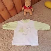 Кофточка на малышей с милой аппликацией 56 см в составе хлопок