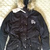 Куртка, парка деми тёплая OVS kids Италия, размер 158 см примерно 12-13 лет