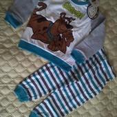 Пижама из хлопка Scooby-Doo от Cool club by Smyk , размер 92