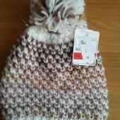 Шапка зимняя для девочки Accessoires от С&A из Германии, размер 128-152