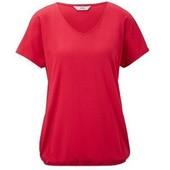 Удобная яркая футболка c V-образным вырезом Tchibo(Германия), размер евро 48/50 (наш 54/56)