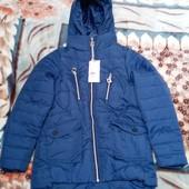 Демисезонная курточка для девочек, фирма Grace,синяя
