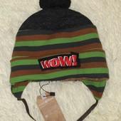 Набор шапка шарф от Dembohause размер 48-50 на 2-3года