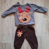 Утеплённый костюмчик для малыша