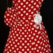 Плаття з підюбником для дівчинки р.150 в стані нового