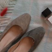 ❤Лодочки туфельки натуральный замш 25 см по стельке❤ уп 20%, нп 5% скидка!
