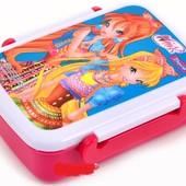 Контейнер для еды 1 Вересня Winx с разделителем 420 мл розовый