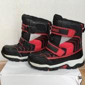 Зимние ботинки сапоги термо 28-29р по стельке 17,5-18 см