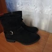 FootFlexx оригинал Германия 40р ботинки осенние, внутри утеплены