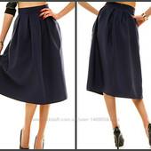 Новпя юбка длина миди разные размеры и цвета