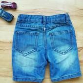 Детские шорты Denim&Co 92-98 размер с потертостями уп 20% нп 5% скидка!