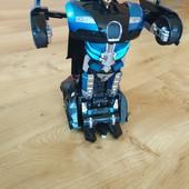 ▶▶▶Крутая машинка-робот трансформер на пульте управления свет звук трансформ◀◀◀уп 20%, нп 5% скидка!
