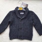♡ Стильный свитер-кофта 80 см (9/12 мес) от Primark (Испания)