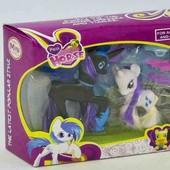 Набор пони с аксессуарами в коробке