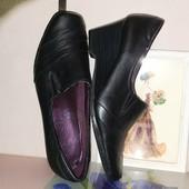 ❤ Распродажа ❤ Всё туфли 69 грн.❤ Закрытые кожаные туфли из натуральной кожи стелька 24 см.